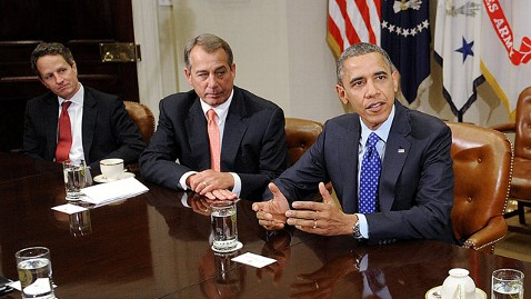 gty tim geithner john boehner barack obama jt 121202 wblog John Boehner, Timothy Geithner Report Little Progress on Fiscal Cliff