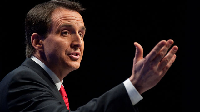 PHOTO: Former Gov. Tim Pawlenty, R-Minn., speaks to the CPAC Conference held by the American Conservative Union in Washington, Feb. 10, 2010.