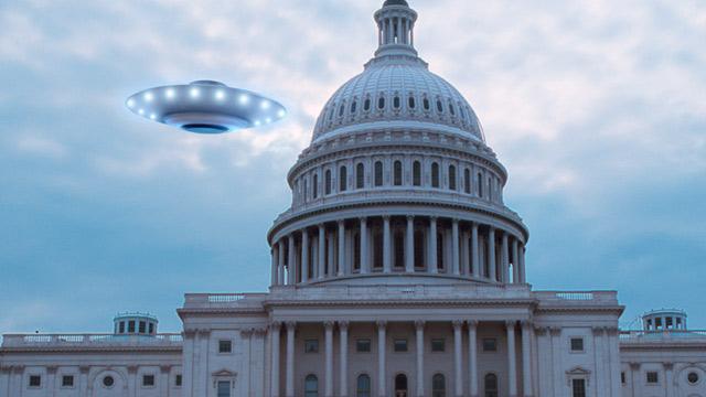 PHOTO: UFO near Capitol building