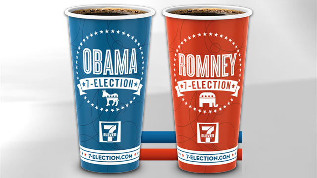 PHOTO: 7-Eleven coffee cups