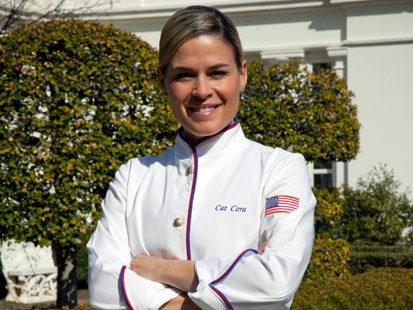 Cat Cora to cook for the Greek Prime Minister at the White House
