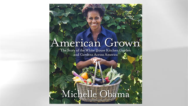 """PHOTO: The cover of Michelle Obama's book """"American Grown"""" is shown here."""