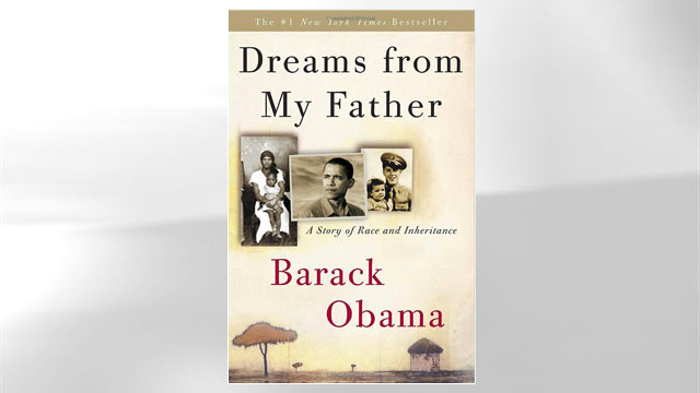 """PHOTO: The cover of Barack Obama's book """"Dreams from my Father"""" is shown here."""