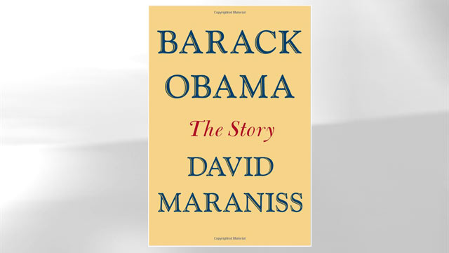 """PHOTO: The cover of David Maraniss book """"Barack Obama The Story"""" is shown here."""