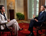 PHOTO: President Obama and Robin Roberts
