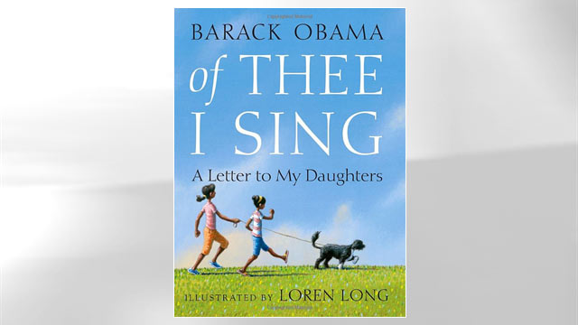 """PHOTO: The cover of Barack Obama's book """"Of Thee I Sing"""" is shown here."""