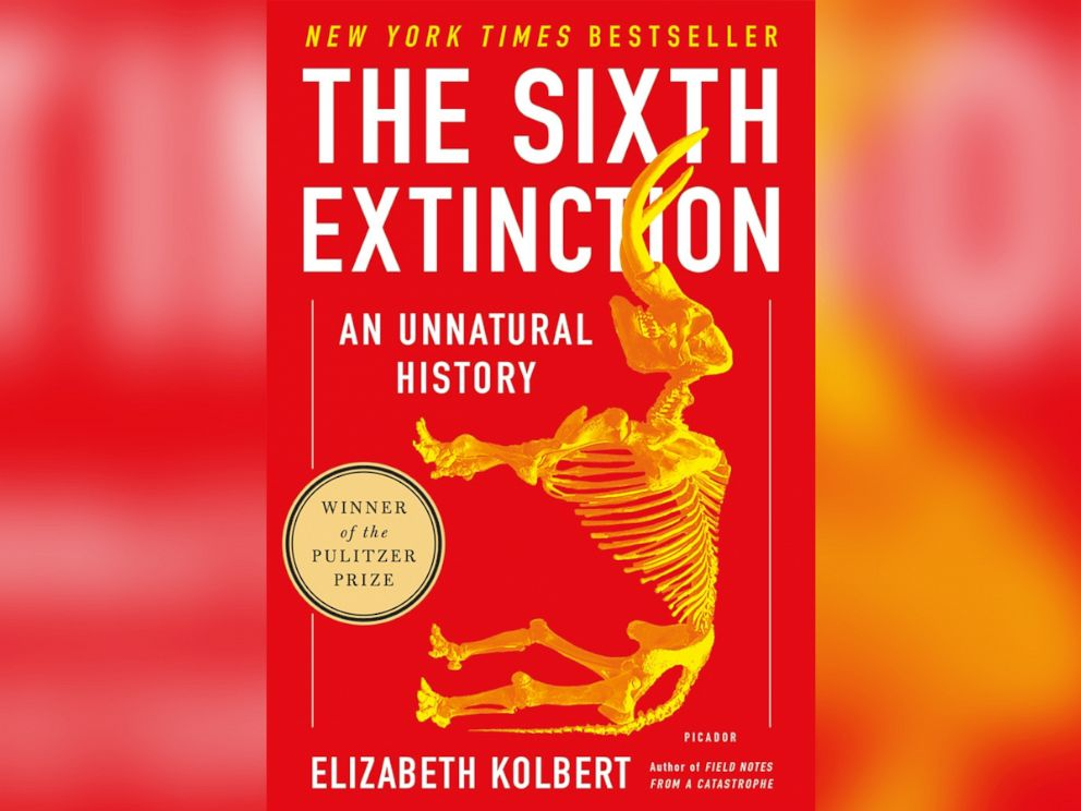 PHOTO: The cover of The Sixth Extinction: An Unnatural History, by Elizabeth Kolbert.