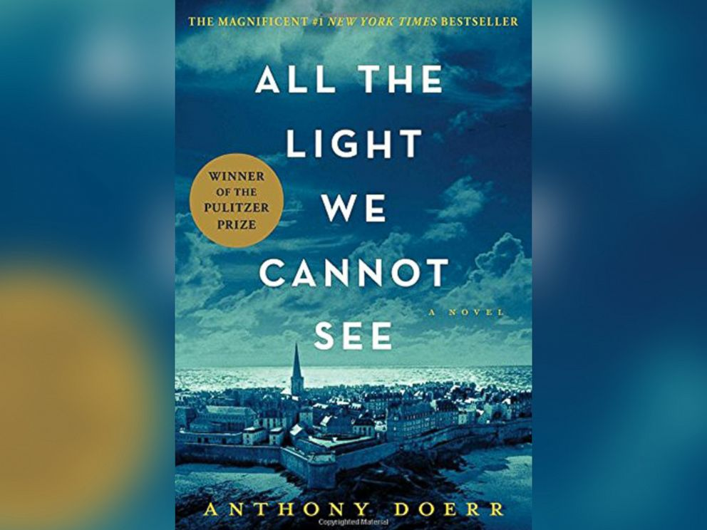 PHOTO: he cover of All The Light We Cannot See, by Anthony Doerr.