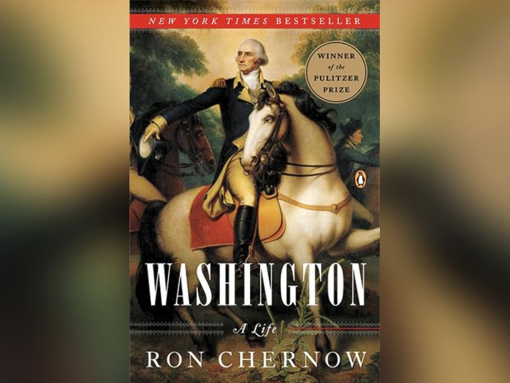 PHOTO: The cover of Washington: A Life by Ron Chernow.