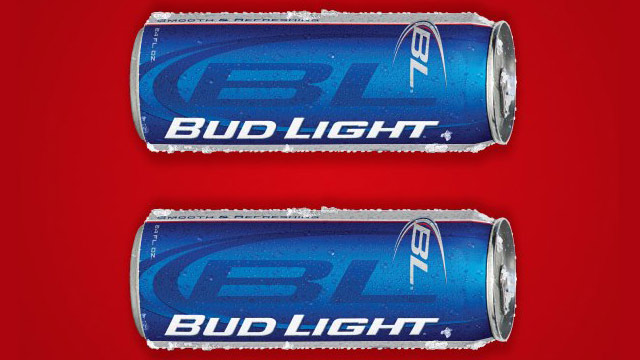 PHOTO: Bud Light equal sign