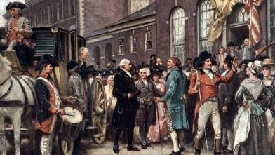 PHOTO: George Washington's 1793 inauguration