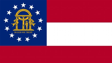 PHOTO: Georgia State Flag
