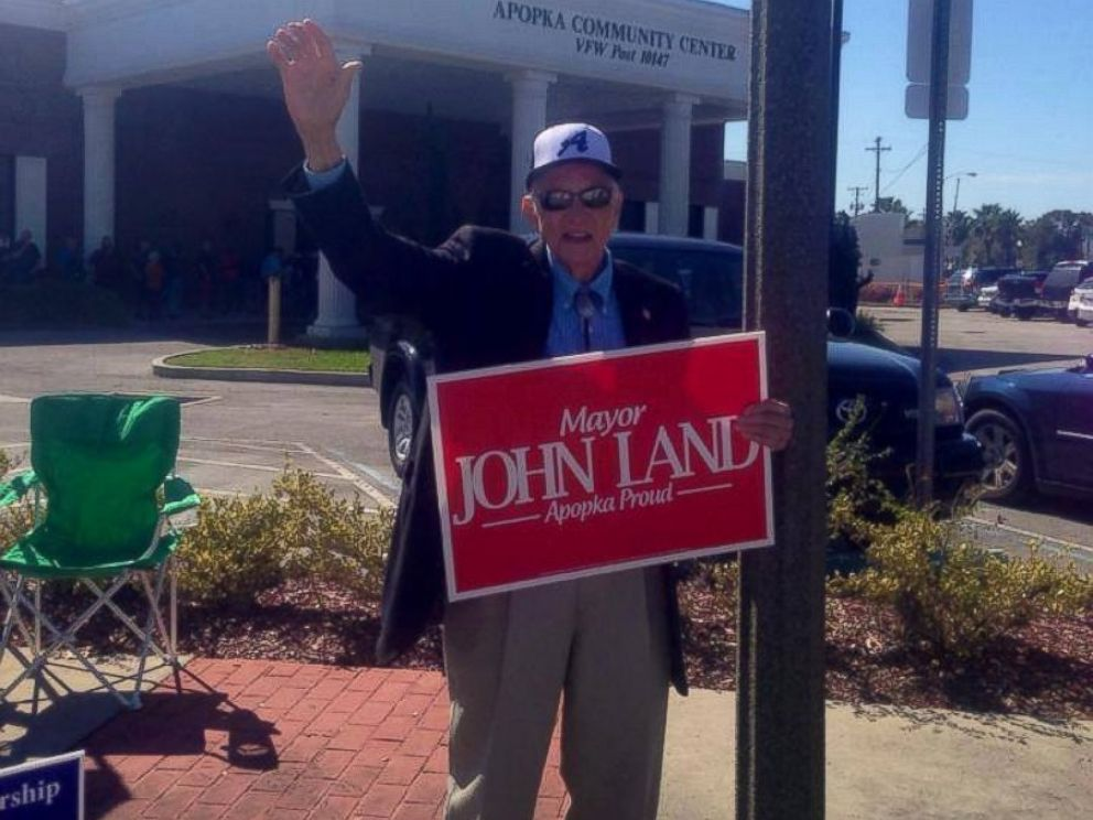 PHOTO: Mayor John Land is pictured in this photo from his Facebook page.
