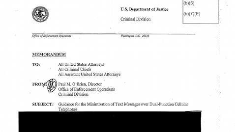 ht justice department redacted ll 130510 wblog Justice Department Complies With FOIA By Releasing Completely Redacted Document