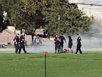 PHOTO: Scene where man sets self on fire at National Mall