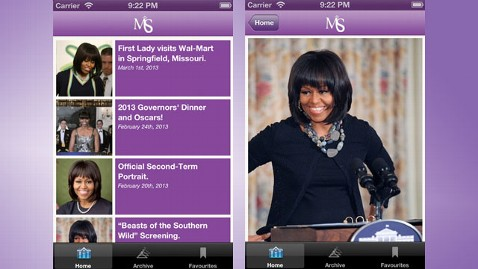 ht michelle style app nt 130501 wblog App Lets Users Get First Lady Michelle Obamas Look