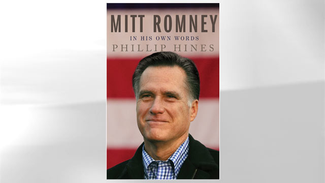 """PHOTO:The cover for the book """"Mitt Romney in His Own Words"""" is shown."""