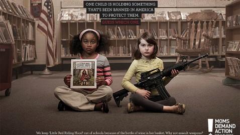 ht moms demand gun sense nt 130415 wblog Moms Gun Control Ad Cites Dangers of Little Red Riding Hood