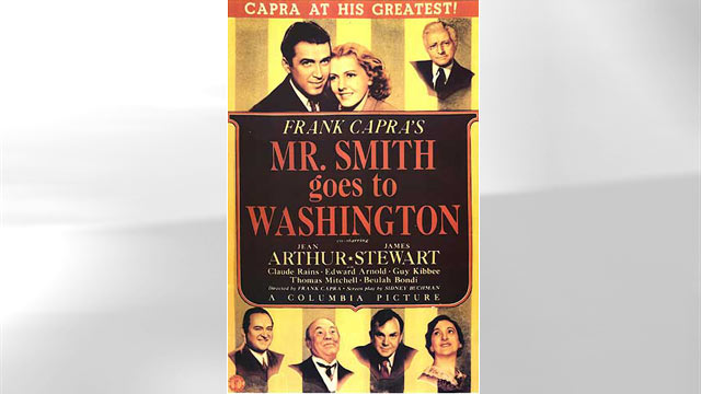 PHOTO: Mr. Smith goes to Washington movie poster is seen here.