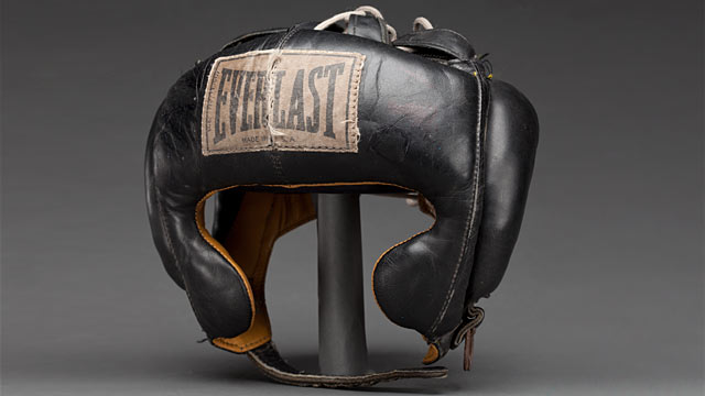 PHOTO: Muhammad Ali's headgear