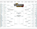 PHOTO: President Obamas 2013 March Madness bracket