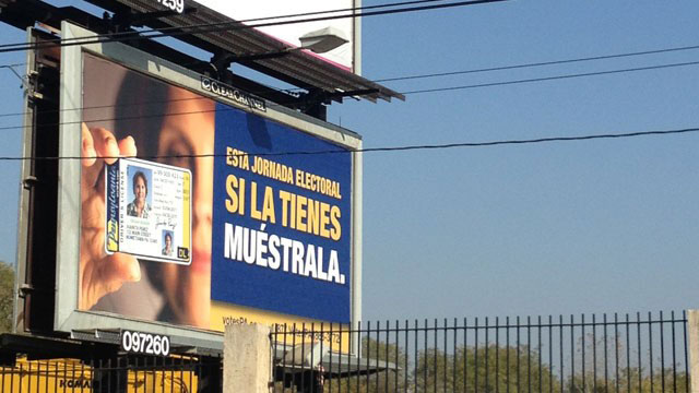 PHOTO: A set of billboards in Pennsylvania urging Spanish-speaking voters to show ID to vote is continuing to cause controversy.