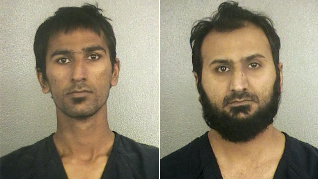 PHOTO: Raees Alam Qazi, left, and his older brother, Sheheryar Alam Qazi, right, were arrested for terrorism charges on Nov. 29, 2012.