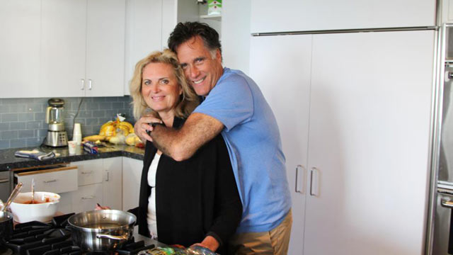 PHOTO: Mitt Romney wished everyone a Happy Thanksgiving along with his wife Ann in this photo he posted on his Facebook page.