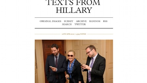 ht text from hillary nt 120410 wblog A Real Text from Hillary Secretary Clinton Responds to Tumblr