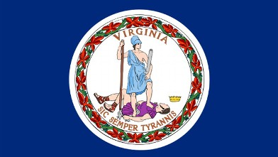 PHOTO: Virginia State Flag