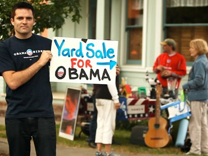 yard sales for obama