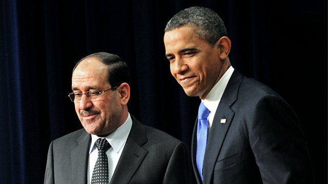 PHOTO: President Barack Obama and Iraqi Prime Minister Nouri al-Maliki