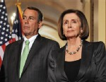 PHOTO: John Boehner and Nancy Pelosi