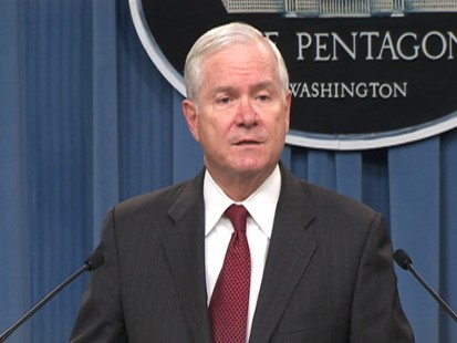 Video of Secretary of Defense Robert Gates announcing nuclear