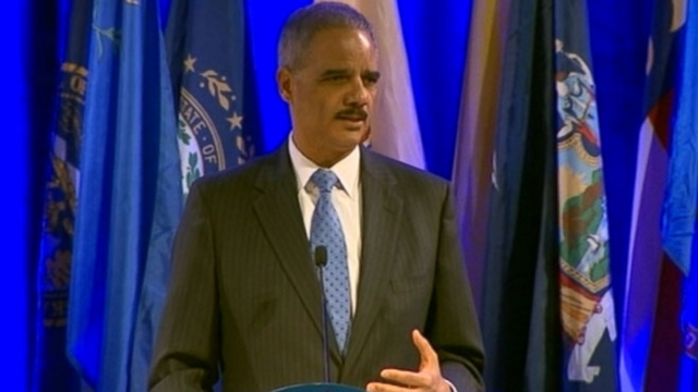 Eric Holder tells state attorneys general that they are not obligated to defend laws they believe to be unconstitutional.