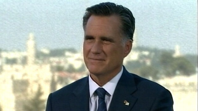 VIDEO: Mitt Romney blames his foreign tour controversy on press reporting.