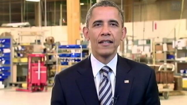 VIDEO: The president urges congress to act responsibly and pass the jobs bill.