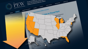 Top Ten States in Fiscal Peril Pew Report: State Budget Deficits ?Wreaking Havoc? on Americans