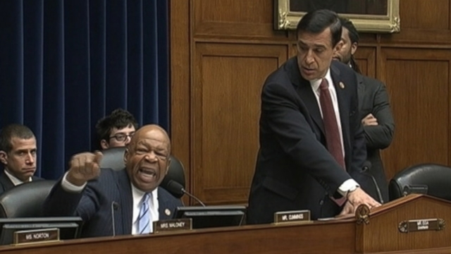 VIDEO: Rep. Elijah Cummings voices his displeasure as Rep. Darrell Issa adjourns hearing on tea party scrutiny by the IRS.