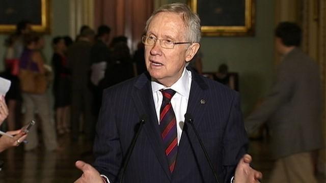 VIDEO: Senate Majority Leader voices some disdain for conservative Republicans when asked about immigration.