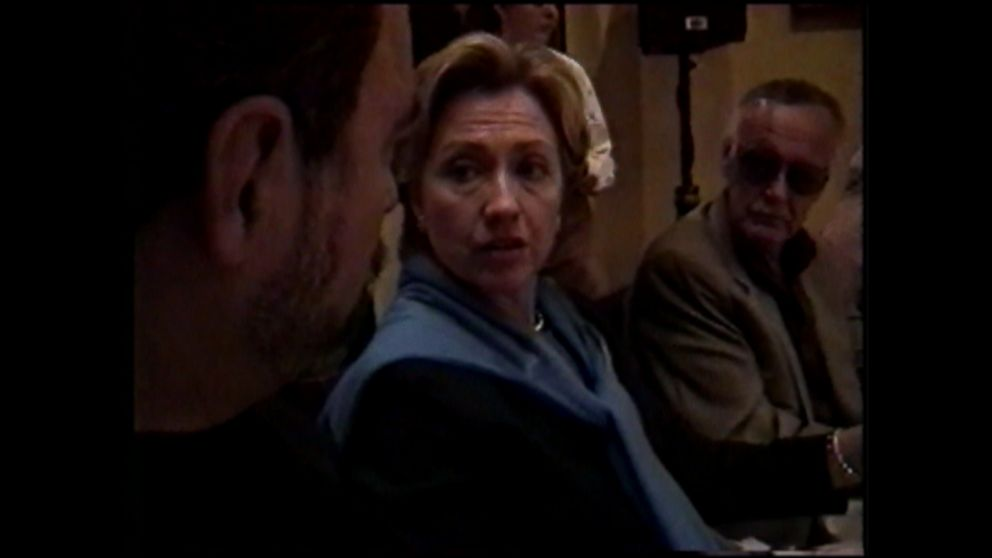 VIDEO: Clinton made the comment during a private luncheon when she was a Senate candidate.