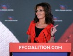 PHOTO: Former Alaska Governor Sarah Palin, R-AK, addresses the Faith & Freedom Coalition Road to Majority Conference in Washington on June 15, 2013.