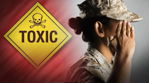 Photo: Military chemical exposures