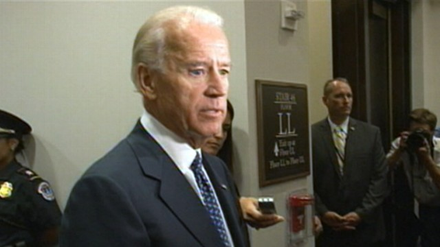 VIDEO: Vice president reportedly said Tea Party lawmakers acted like terrorists.