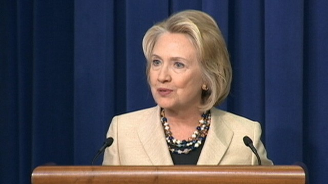 VIDEO: Hillary Clinton says proposal for Syria to release chemical weapons stockpiles is an important step.