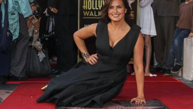 PHOTO: Actress Mariska Hargitay is honored with a star on the Hollywood Walk of Fame on Friday, Nov. 8, 2103, in Los Angeles, Calif.