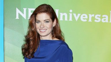 PHOTO: Debra Messing arrives at NBCUniversals 2014 Summer TCA Tour - Day 1 held at The Beverly Hilton Hotel, July 13, 2014, in Beverly Hills, Calif.