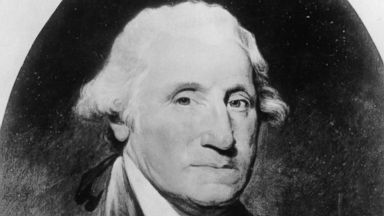 PHOTO: A Portrait of George Washington the first president of the United States.