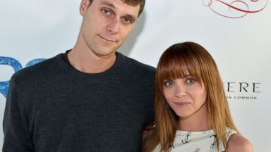 PHOTO: James Heerdegen and Christina Ricci attend the Rooftop @ Revere Launch Party at The Revere Hotel, May 18, 2013 in Boston.