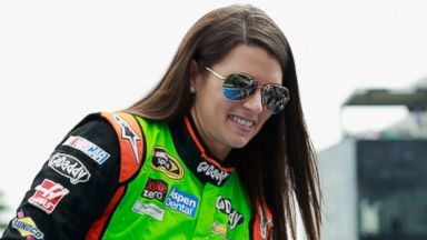 PHOTO: Danica Patrick is introduced to fans prior to the NASCAR Sprint Cup Series Daytona 500 at Daytona International Speedway on Feb. 23, 2014 in Daytona Beach, Fla.